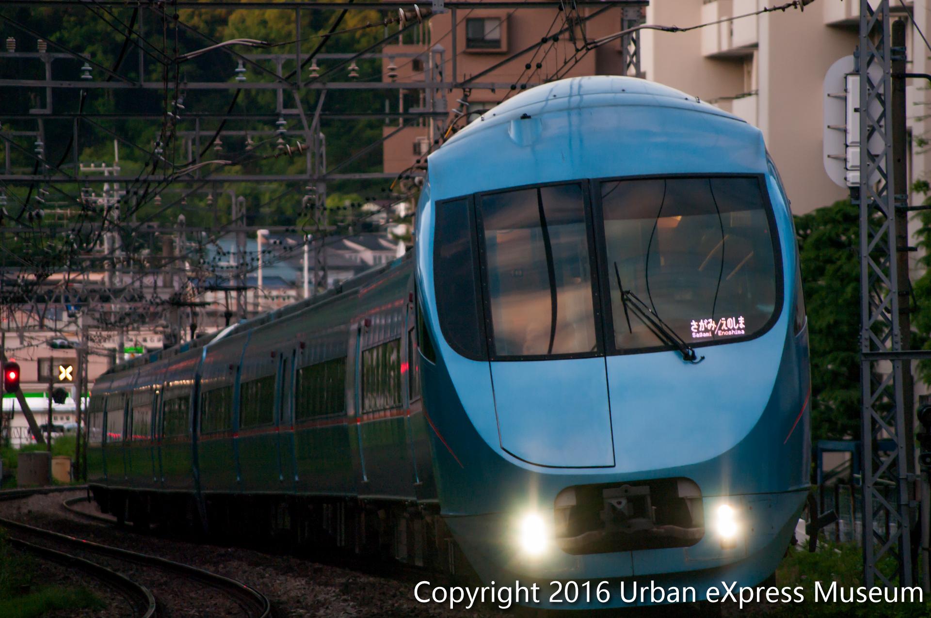 鉄道写真コーナーに小田急60000形を追加しました!